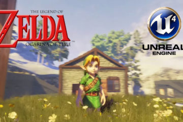 A Fan Beautifully Recreated Death Mountain Crater from Zelda: Ocarina of Time in Unreal Engine 4