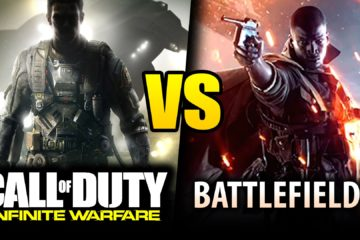 Which Game Will Come out on Top- Battlefield 1 or Call of Duty: Infinite Warfare?