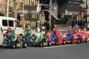 Nintendo Are Suing Tokyo Go Cart Company for Copyright Infringement