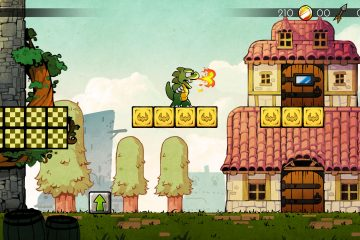 "Switch Graphics from HD to 8-bit Freely with Wonder Boy: The Dragon's Trap's ""Retro"" Feature"