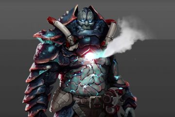 Watch New Quake Champions Warrior, Scalebearer, in Action