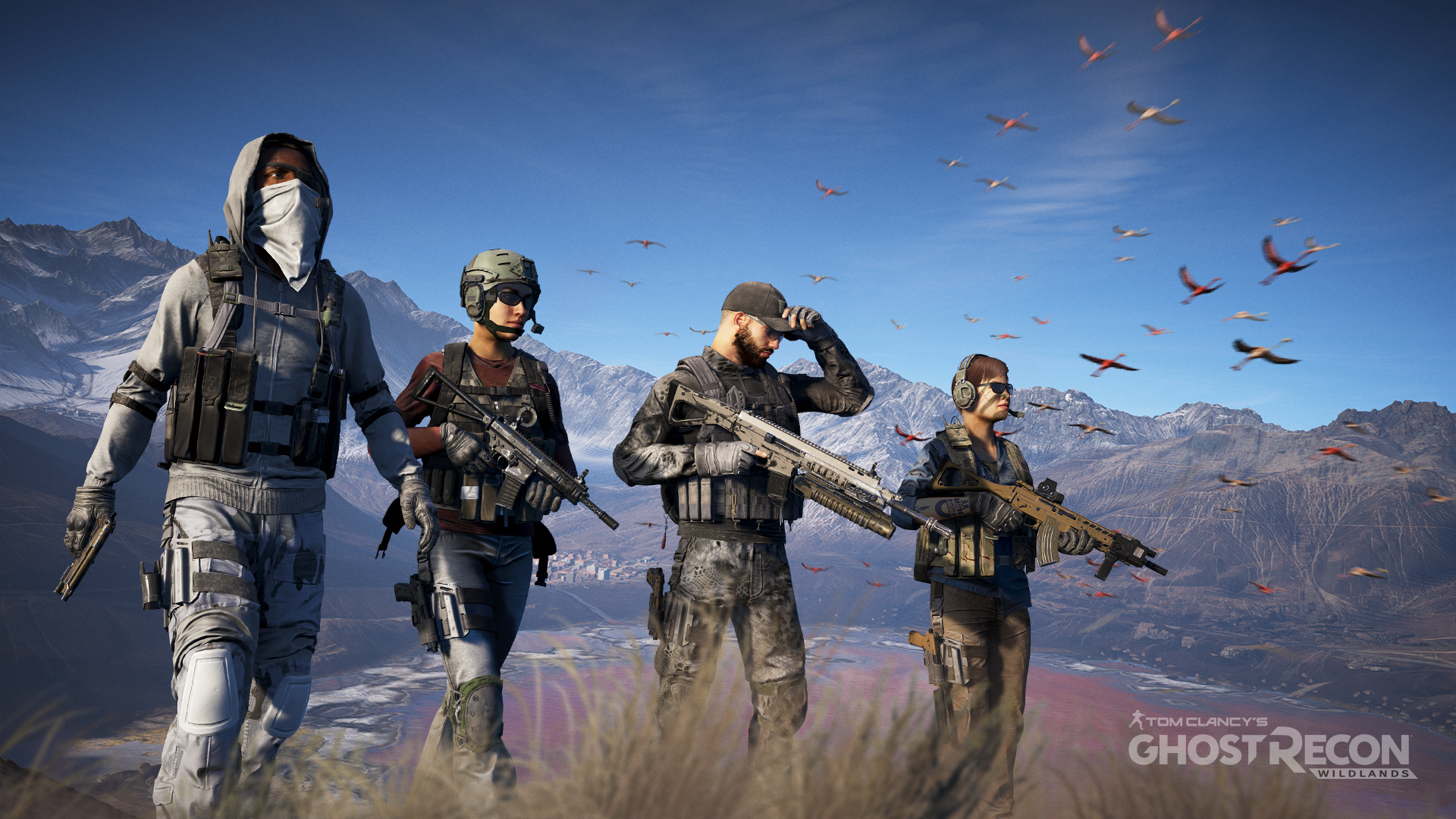 Tom Clancys Ghost Recon Wildlands Retains Top Spot In