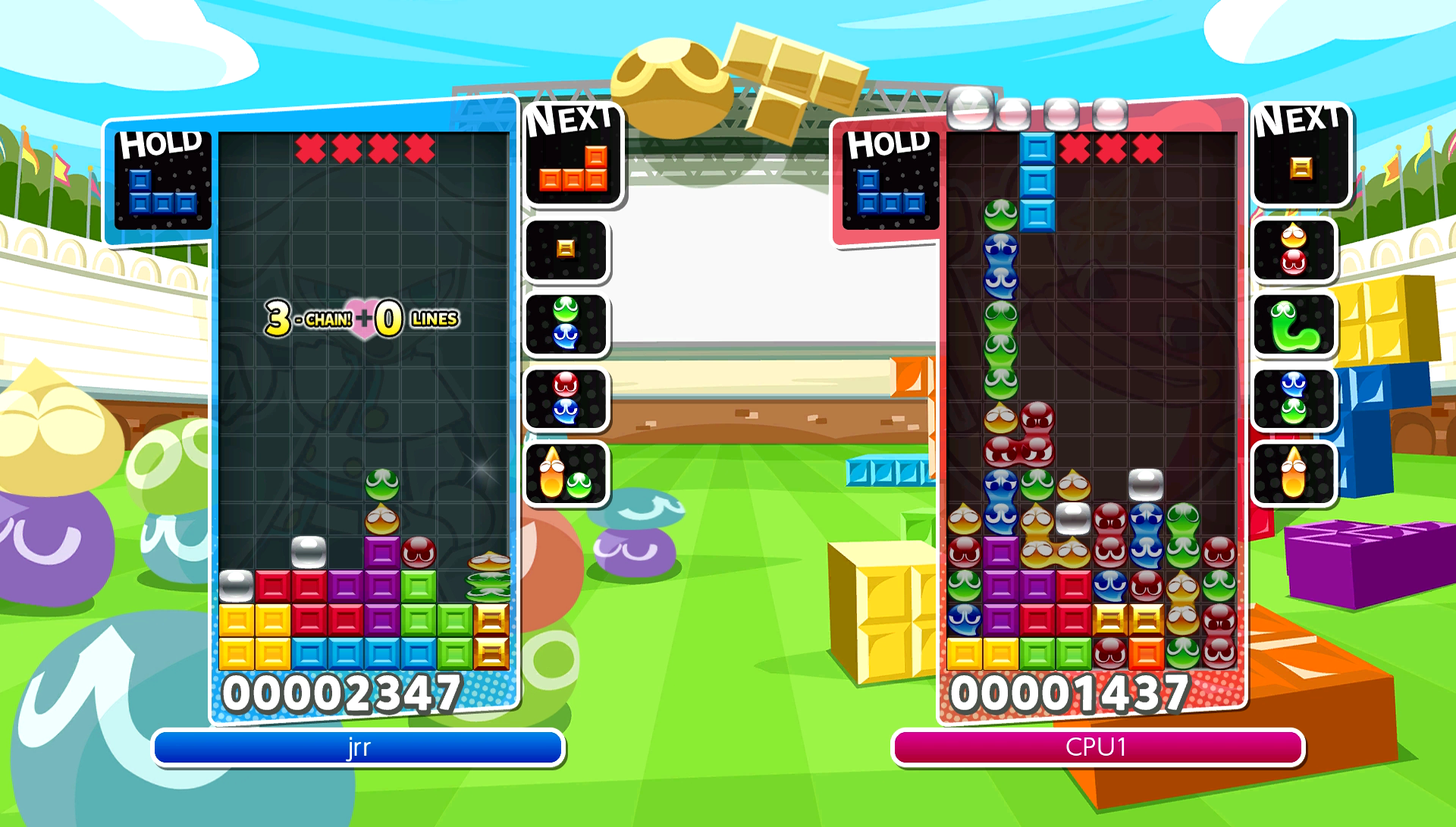 Puyo Puyo Tetris Released in North America