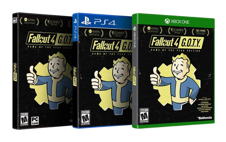 Return to the Wasteland with Fallout 4: Game of the Year Edition