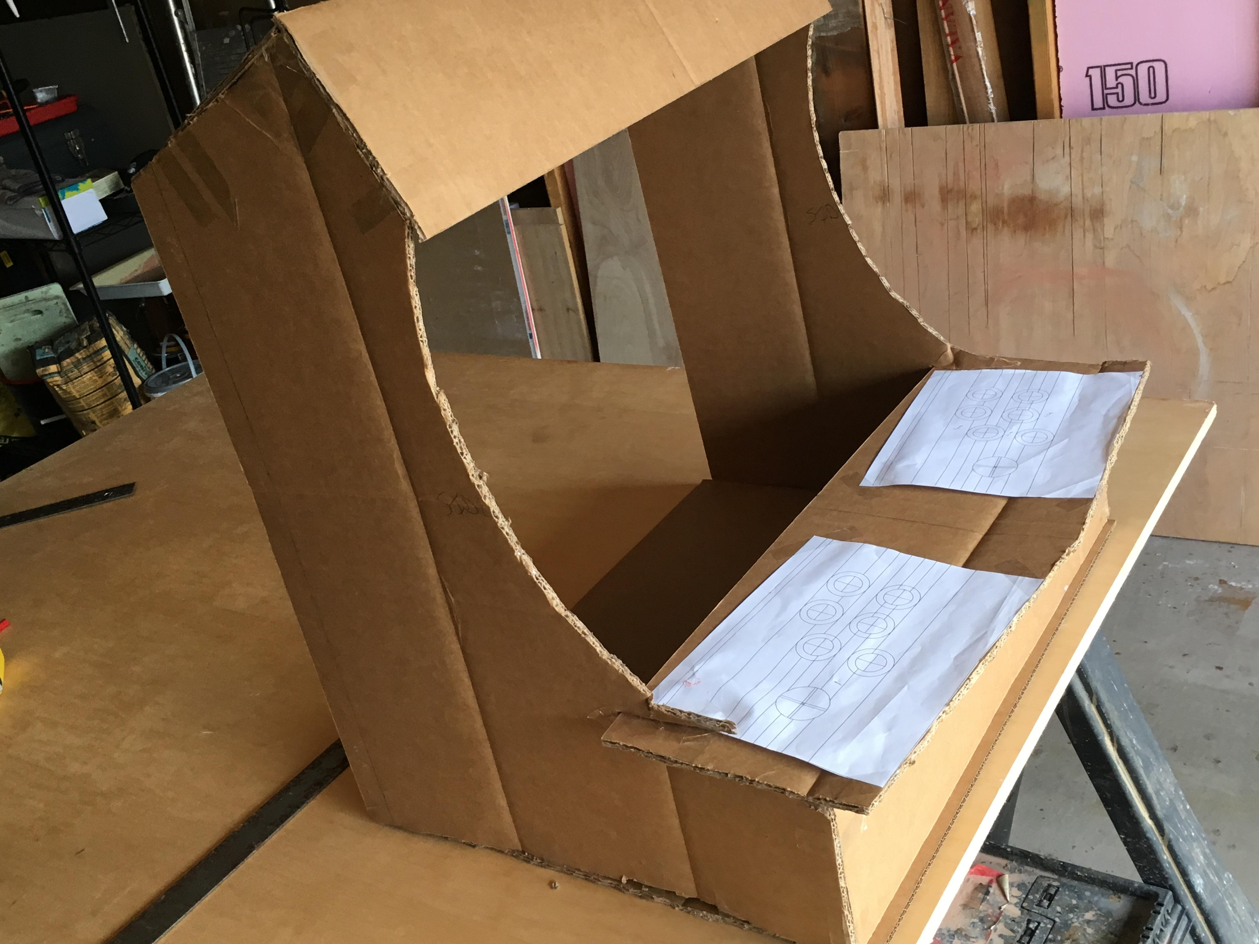 Cardboard Mock Up