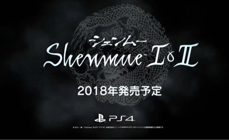 Shenmue I and II Remasters set for 2018 Release