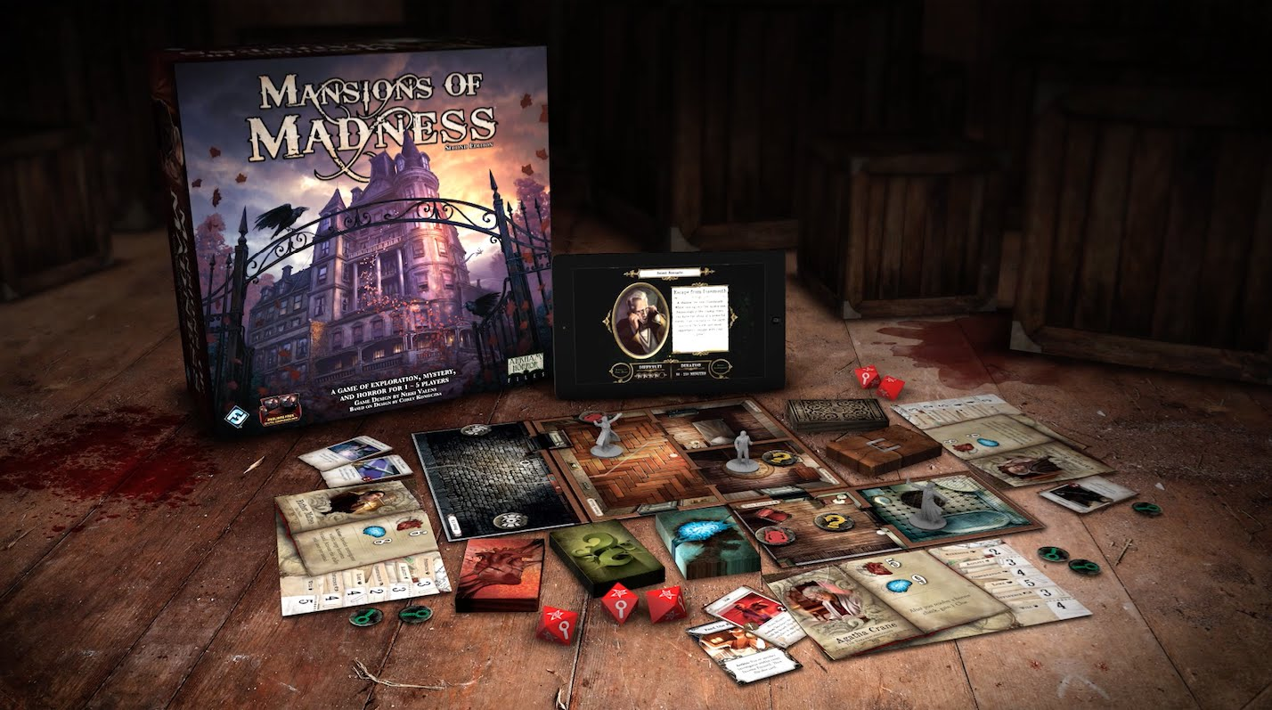 Mansions Of Madness Nd Edition Review Gaming Respawn - Mansion design games