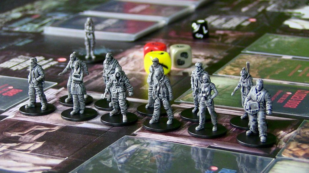 This War of Mine: The Board Game - characters