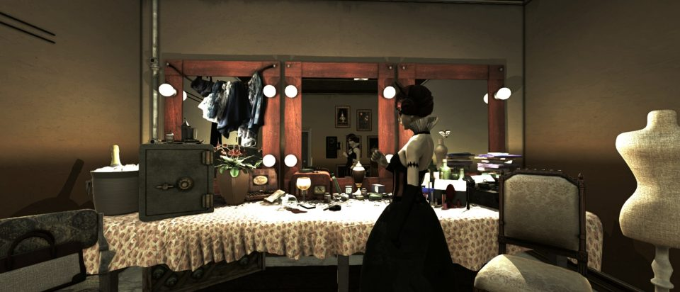 New Scary Trailer Released For Film Noir Horror Game Dollhouse