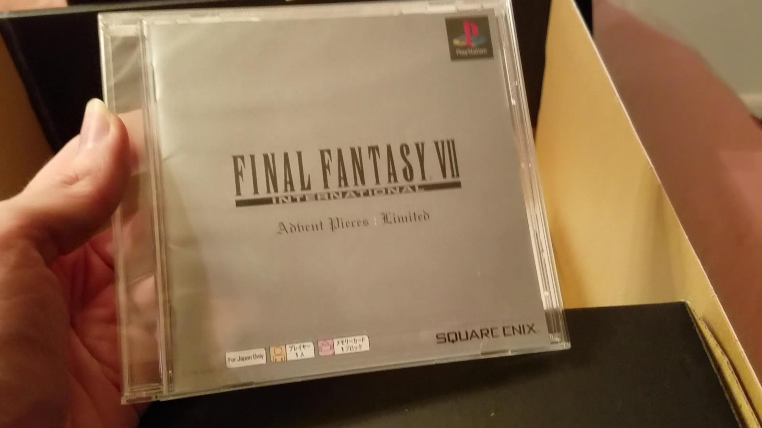 Final Fantasy VII Advent Children limited edition