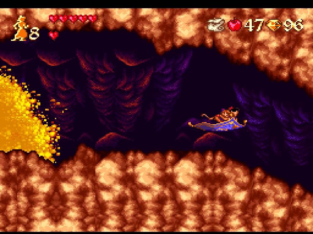 Resultado de imagen de Aladdin SNES