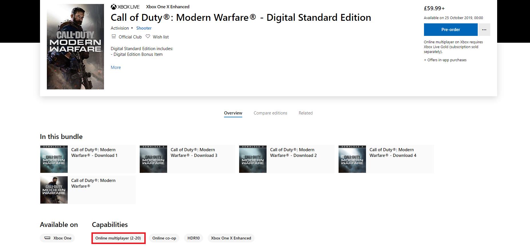 Call of Duty: Modern Warfare's Multiplayer Looks Like It Will