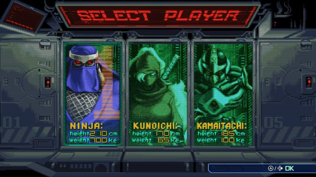 Character selection from the beginning