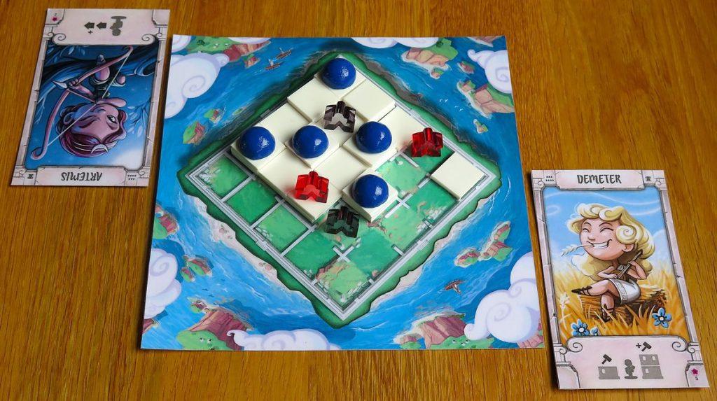 Santorini - Board
