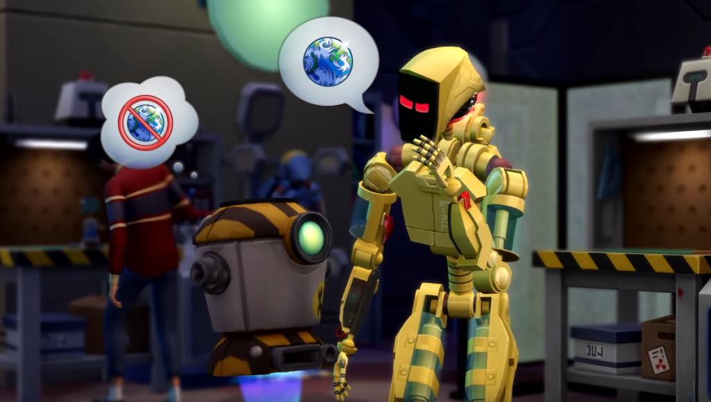 Sims 4 university robot