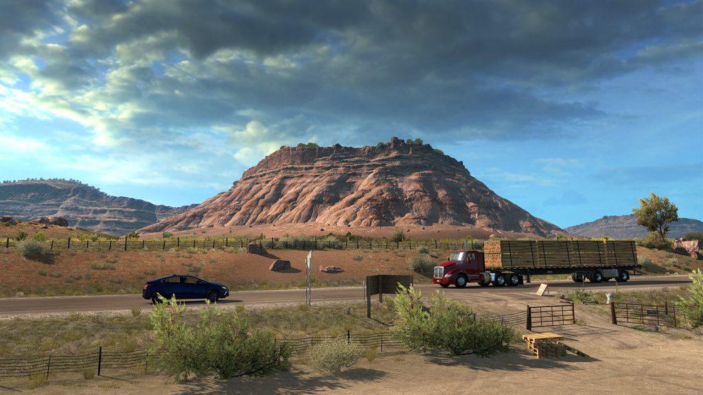 American Truck Simulator - Utah Monument Valley