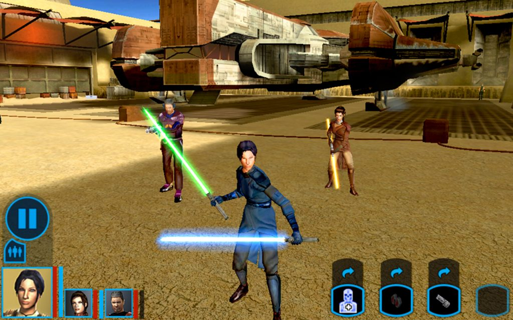 star wars knights of the old republic screenshot
